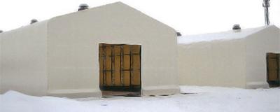 積雪・耐雪テント倉庫