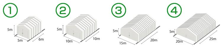 可動式テント(スライドハウス) 価格の目安