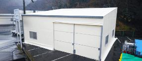 小型テント倉庫