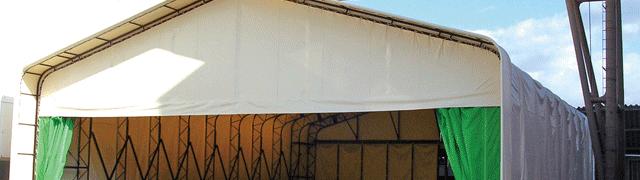 可動式テント(スライドハウス)