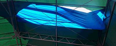 テント倉庫 張替え・修理