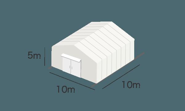 テント倉庫イメージ