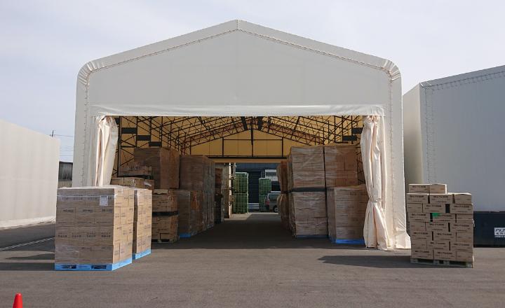 レンタルテント倉庫