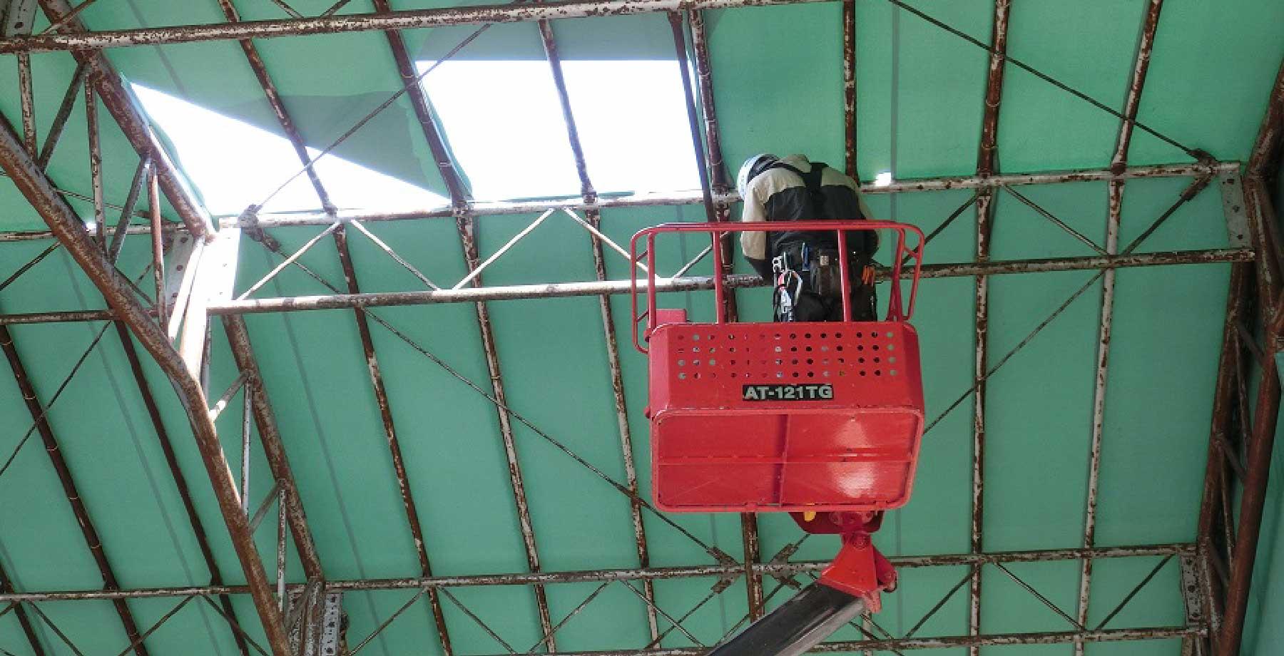 テント倉庫修理・張替え画像6