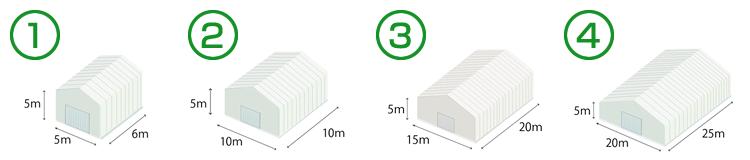 テント倉庫新設 価格の目安