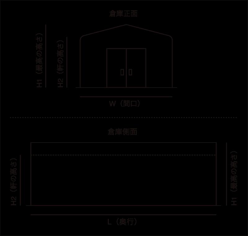 切妻イメージ図
