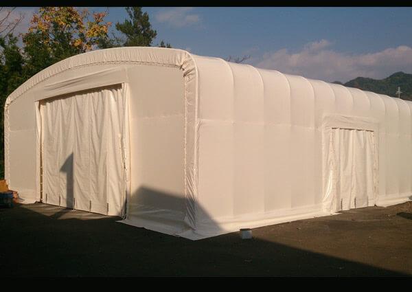 テント倉庫AFTER